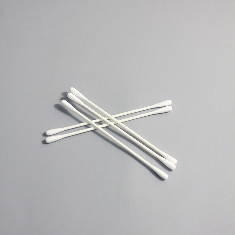 Dust Free Disposable Cleaning Cleanroom Cotton Swab Stick for Electronics