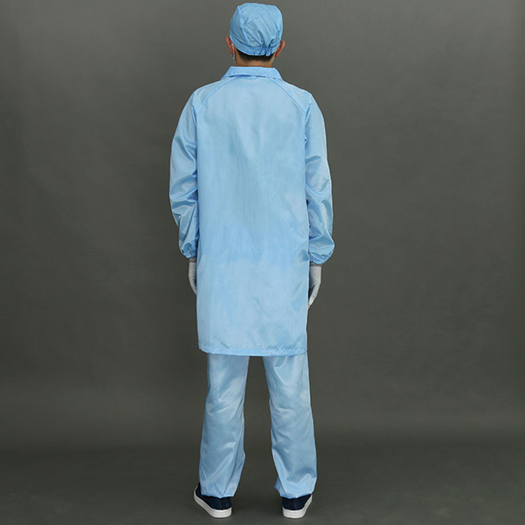 Hot Selling Esd Cleanroom Smock Safety Esd Coverall Esd Coveralls,Cheap Disposable Coveralls