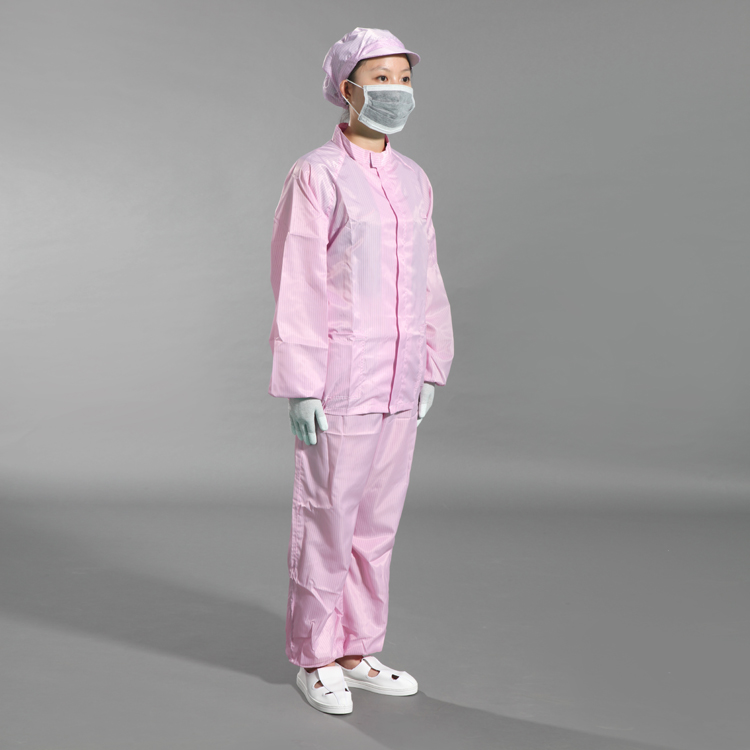 Esd Washable Safety Working Coverall For Cleanroom