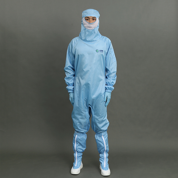 Unisex Colorful Cleanroom ESD Garment Antistatic Work Uniform