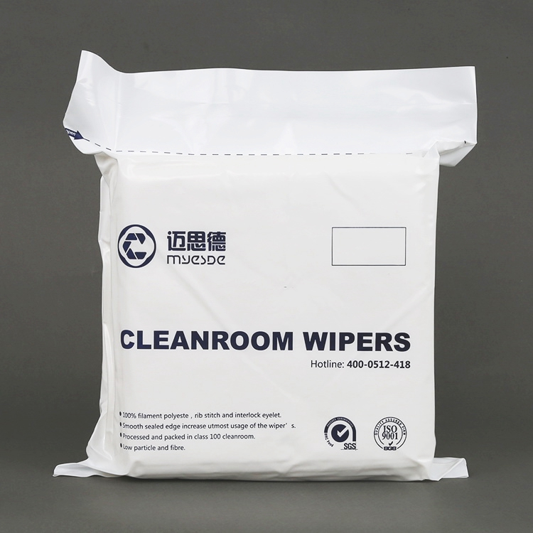 low price 12inch 165gsm Hot selling cleaning cleanroom wiper for industry