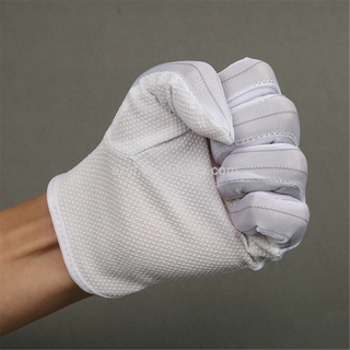 Anti Static Gloves Excellent Sweat Absorbency Polyester Glove