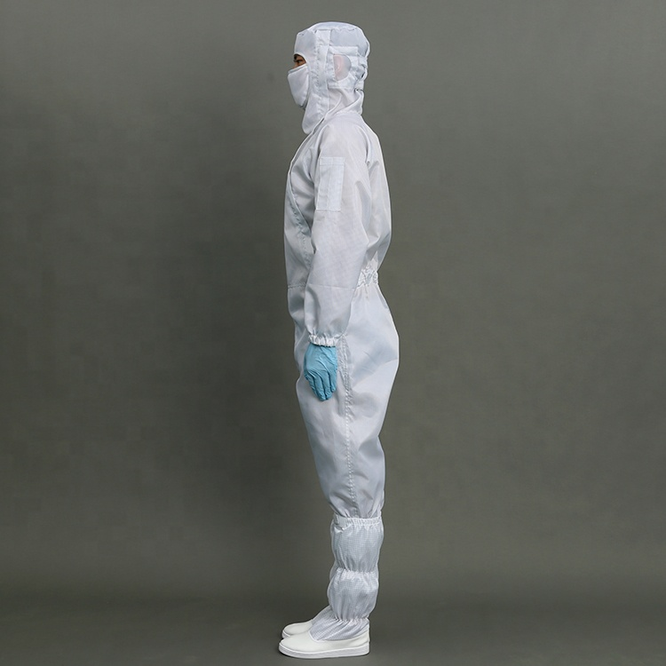 New Design Antistatic Anti-bacteria ESD Cleanroom Clothes Esd Overalls