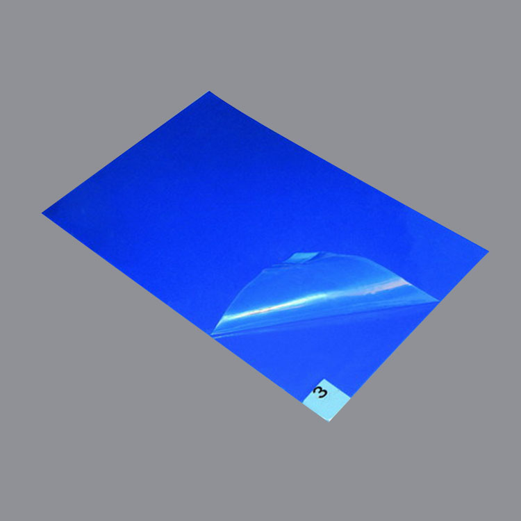 35um Thickness Blue Tacky Mat Cleanroom Sticky Tacky Mat