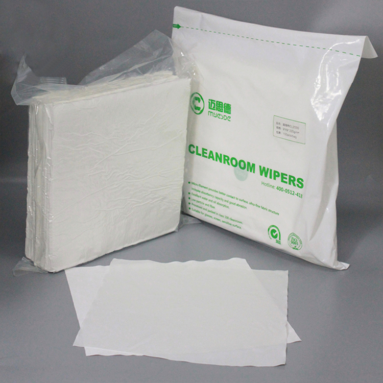 New Style Particle Free Lint Free Microfiber Dustless cleanroom cleaning Pcb Wiper