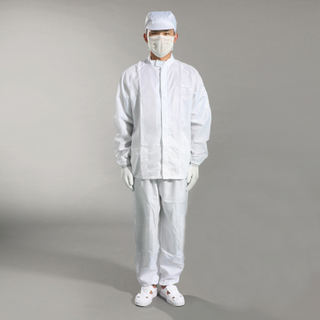Wholesale Grid Esd Industrial Cleanroom Coverall