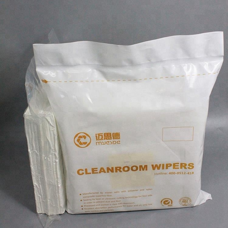 Hot Sale 100% Polyester Cleanroom Wiper Suitable For All Cleanrooom