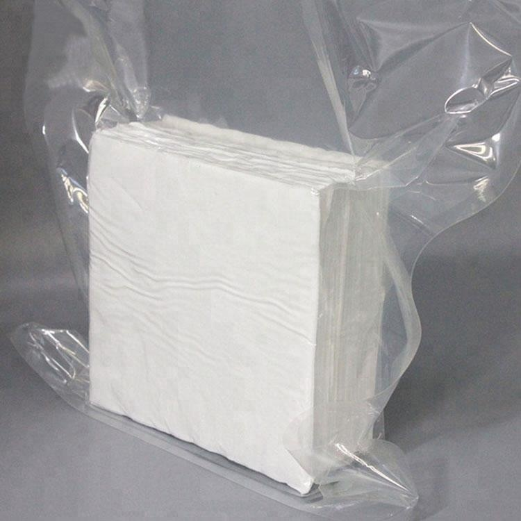 9*9inch High Quality 145gsm Class 100 Polyester Cleanroom Polyester Wipe