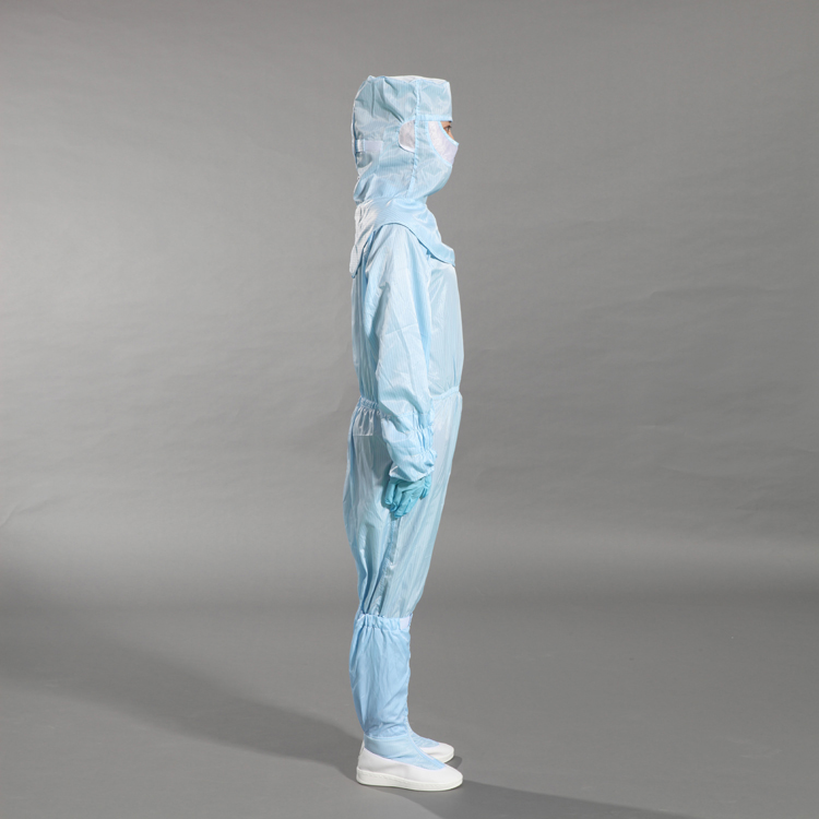 Import Fabric Antistatic ESD Garments Cleanroom Work Uniform