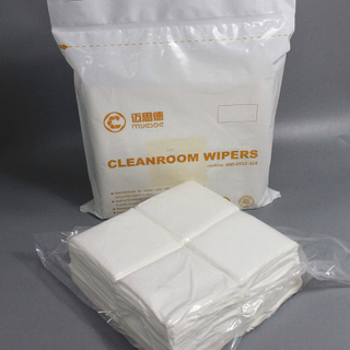 135g 9inch OEM/ODM class100 Industry Polyester clean room wiper made in China