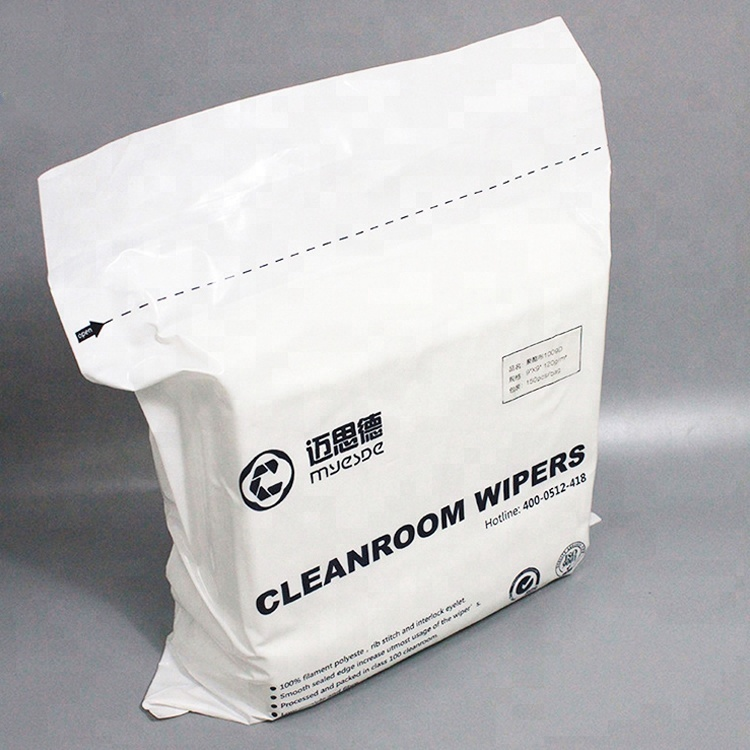 Wholesale Dust Proof Cleanroom Polyester Wipers,Cleaning Polyester Wiper