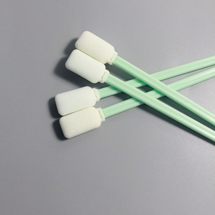 Industrial Spiral Lint Free Foam Swabs for Cleanroom