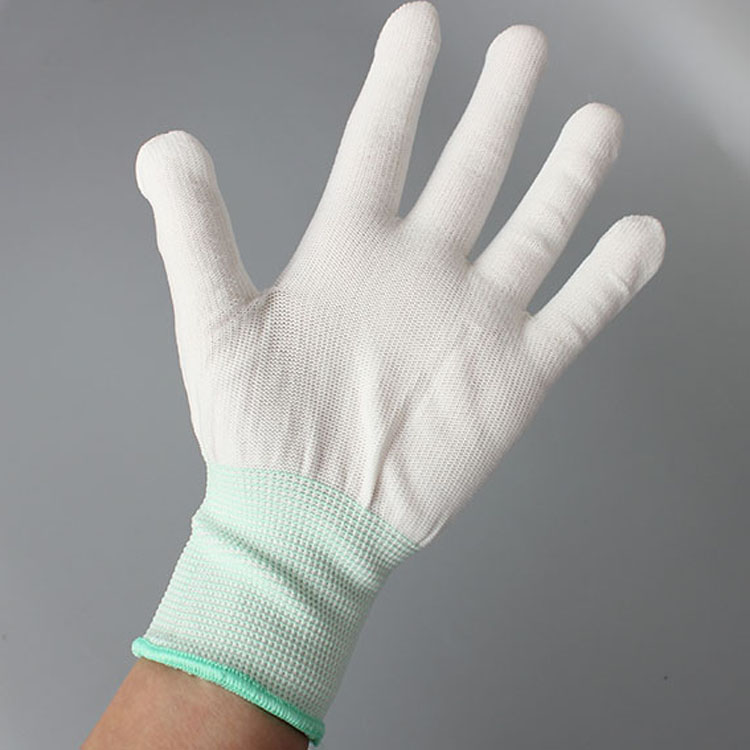 High Quality Antistatic Pu Coated Gloves,Top Fit Gloves