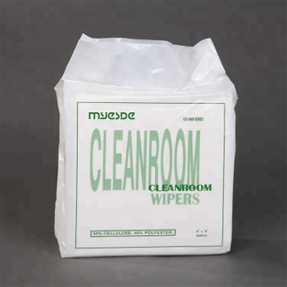 Free Polyester Cloth Cleanroom Wipers For Cleaning