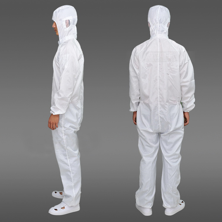 2019 Hot Selling Antistatic Clean Room Coverall