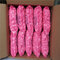 Malaysia dust free pink latex finger cots
