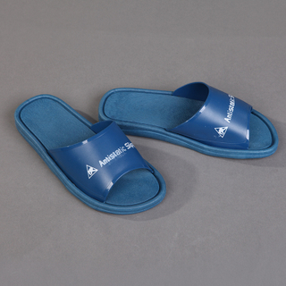 High quality Esd Spu Cleanroom Slipper Antistatic Esd Slippers Blue Pvc Esd Slippers