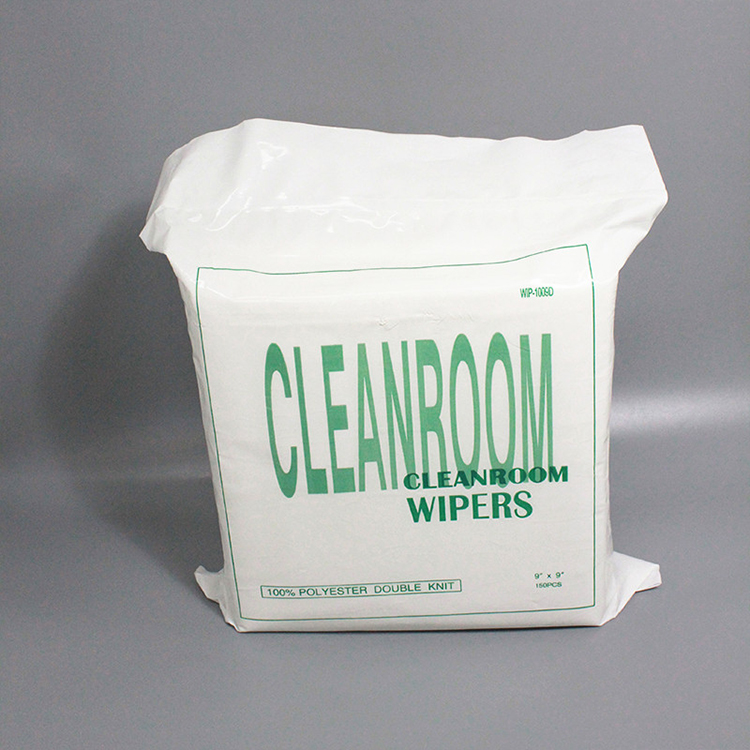 1009SLE Laser Cut 100% Polyester Cleanroom Wiper Lint Free cleaning wiper