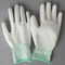 High Quality Antistatic White Heated Work Palm Pu Coating Working Gloves