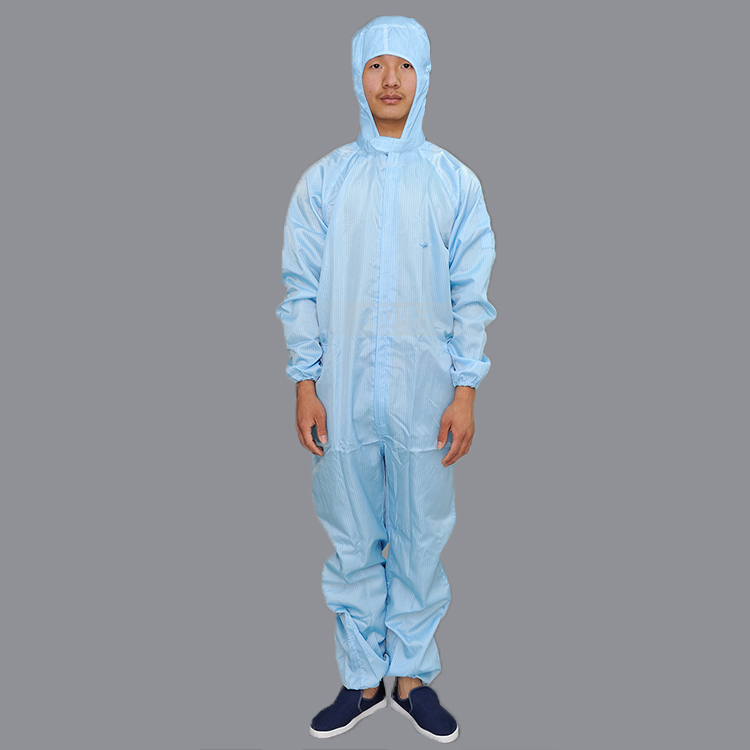 2019 New Design Cleanroom Esd Anti Static Overcoat