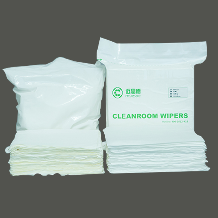 "4""x4"" Clean Class 10 Laser Cutting Lint Free Cleanroom Microfiber Cleanroom Wiper for clean room"