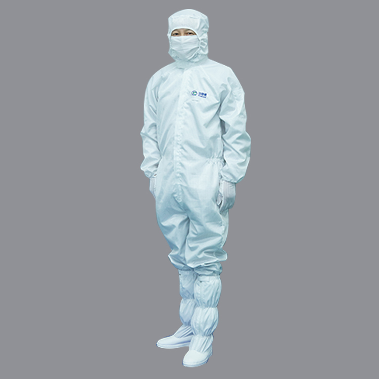 2019 New Design Polyester Cleanroom Long Sleeve T Shirt Suit Work Garments