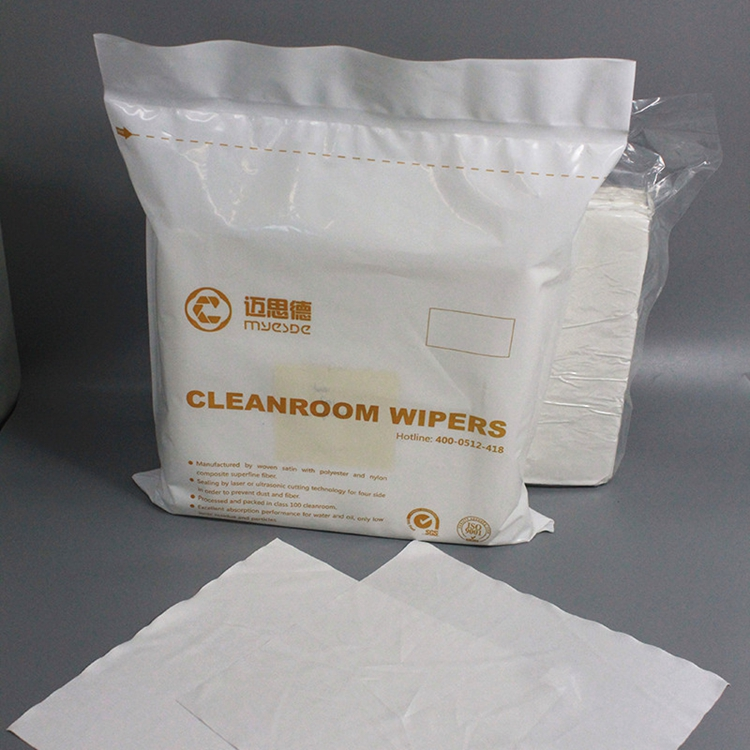 2019 New Design Cleanroom Antistatic Lab Wipes