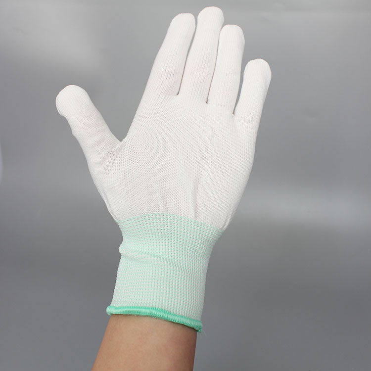 High Quality Esd pu safety palm fit gloves