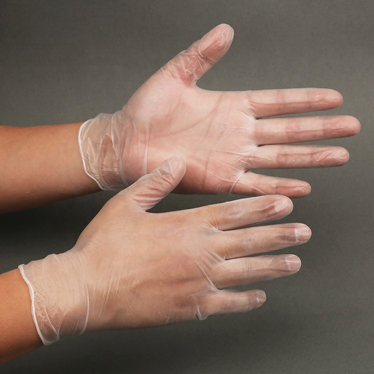Industrial Workshop Disposable Cleanroom Cleaning Vinyl/PVC Gloves