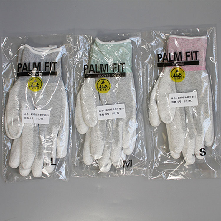 2019 New Design Pu Finger Coated Work Gloves Wholesale Work Gloves Pu Work Gloves