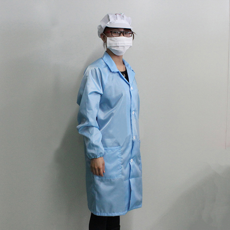 High Quality Esd Cleanroom Anti Static Smock