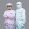Wholesale Esd Cleanroom Uniform,Pink Coveralls Women