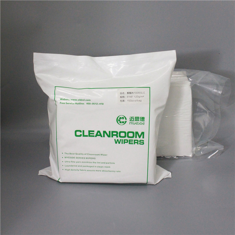 135g 9inch multifunctional Soft polyester with CE certificate cleanroom wiper