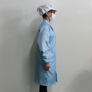 wholesale Polyester Esd Antistatic Cleanroom smock