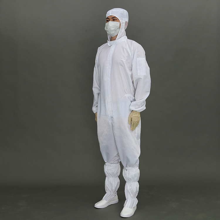 Hot Selling Esd cleanroom clothes Safety esd cleanroom suit For Electronics Factory