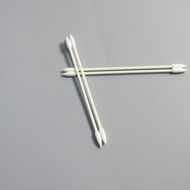 Factory Price Cleanroom Clean Cotton Swab for Industry semi-conductor use