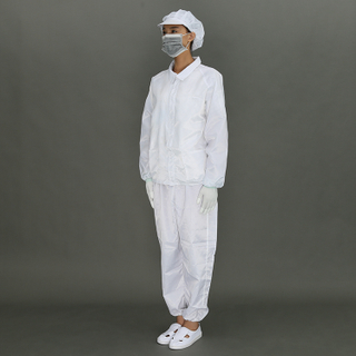 High Quality Cleanroom Uniform,Antistatic Esd Jumpsuit,Safety Cleanroom Coverall