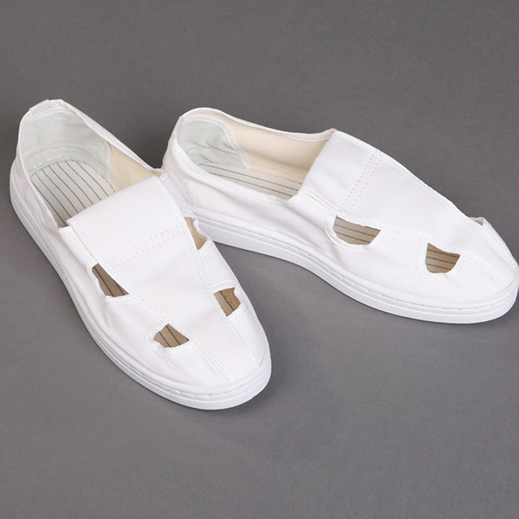 Factory Manufacture Four Hole PU/PVC Anti-static Shoes