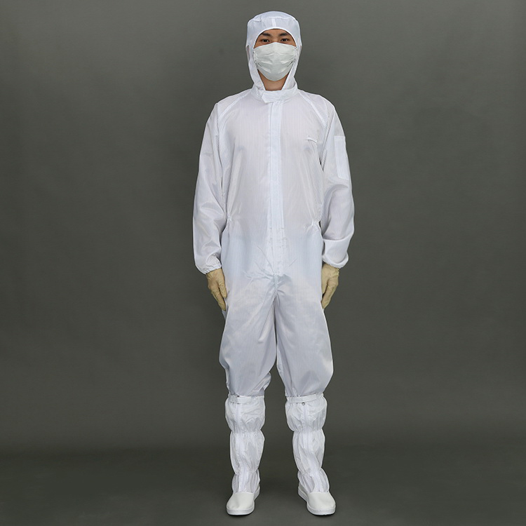 Wholesale Safety Esd Cleanroom Coverall suit