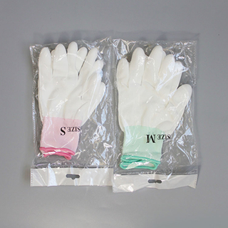 High quality Pu finger tip electronic gloves