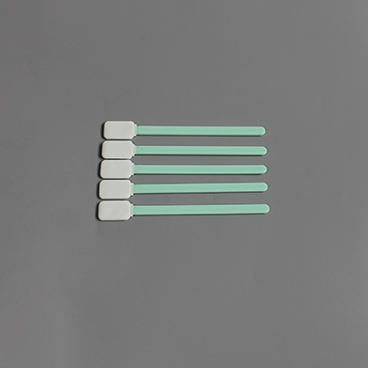Long Handle Dust Free Cleanroom Polyester Swabs for PCB