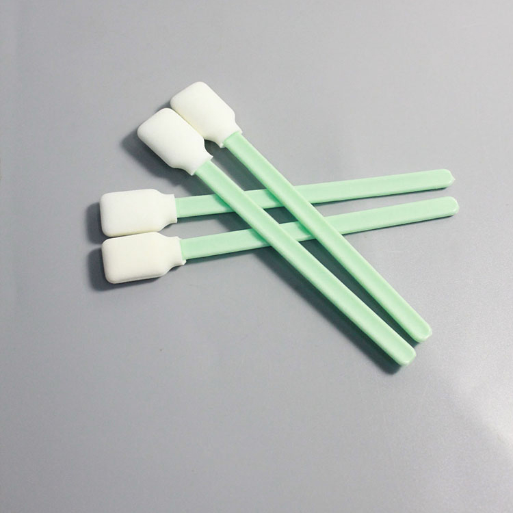 Trade Assurance Foam Industrial Printhead Cleaning Cleanroom Cotton Swab