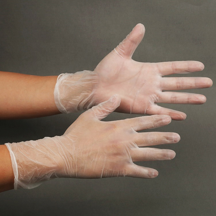 Clear Disposable Powder Free PVC /Vinyl Gloves