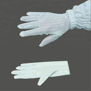 High Quality Antistatic Esd Dotted Gloves,Dotting Esd Gloves
