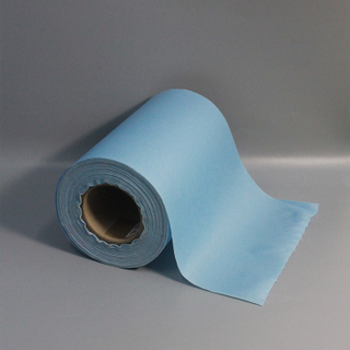 High Quality Heavy Duty Industrial Cleaning Cloth Blue Industrial Jumbo Roll Paper