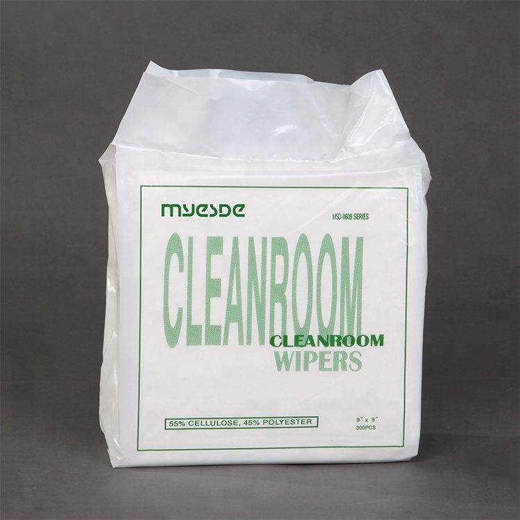 Brand New Polyester Cleanroom Keyboard cleanroom cleaning wiper
