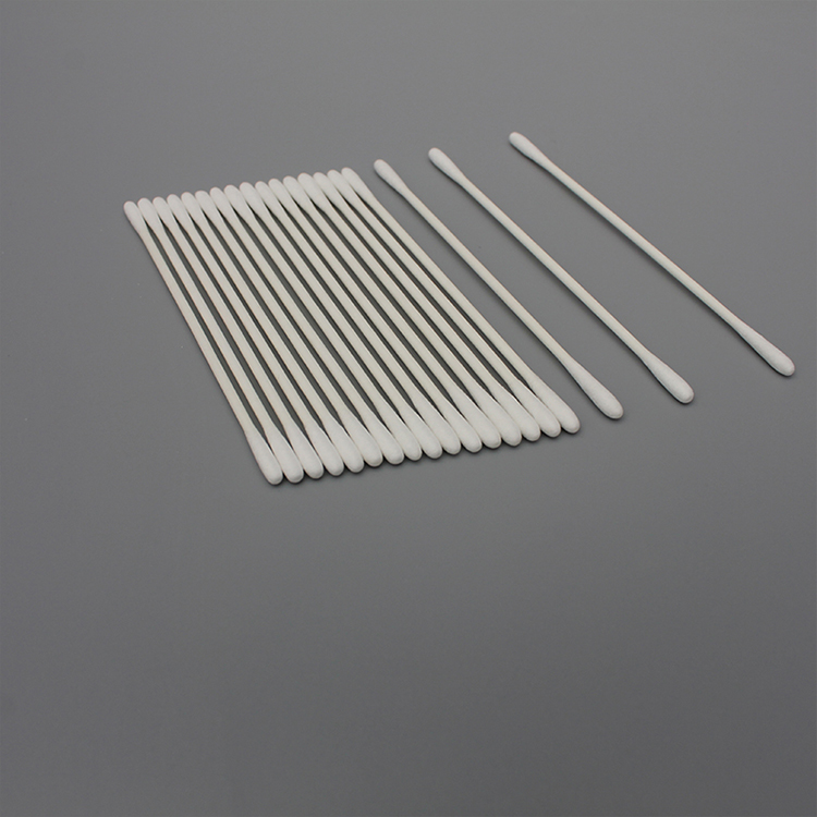 Dust-free Disposable Double Tiped Cotton Swab for Cleanroom