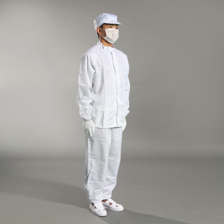 Manufacturers Esd Cleanroom Antistatic Clothes Coverall