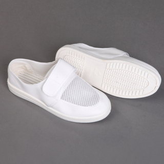 Trade Assurance PU or PVC Sole Canvas ESD Safety Shoes for Factory&lab Cleanroom